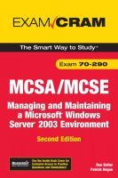 MCSA/MCSE 70-290