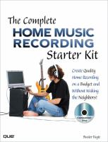 The Complete Home Music Recording Starter Kit