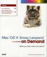 Mac OS X Snow Leopard on Demand