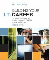 Building your I.T. Career