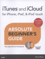 ITunes and ICloud for IPhone, IPad, & IPod Touch