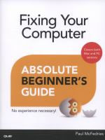 Fixing your Computer