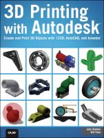 3D Printing With Autodesk 123D