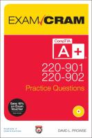 CompTIA A+ 220-901 and 220-902 Practice Questions