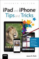 Image: IPad® and IPhone® Tips and Tricks