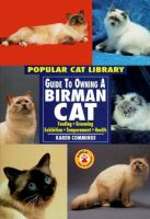Guide to Owning A Birman Cat