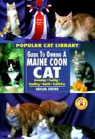Guide to Owning A Maine Coon Cat