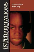 Richard Wright's Black Boy