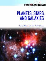Planets, Stars, and Galaxies