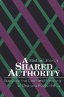 A Shared Authority