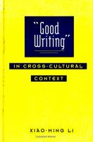 """Good Writing"" in Cross-cultural Context"