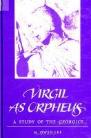 Virgil as Orpheus