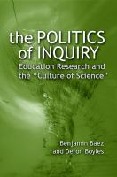 The Politics of Inquiry