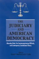 The Judiciary and American Democracy