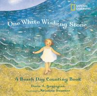 One white wishing stone : a beach day counting book