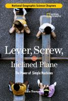 Lever, Screw, and Inclined Plane