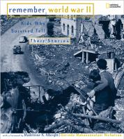 Remember WWII