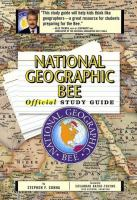 National Geographic Bee Official Study Guide