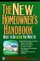 New Homeowner's Handbook: What to Do After You Move in