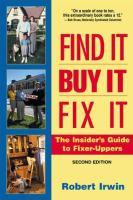 Find It, Buy It, Fix It