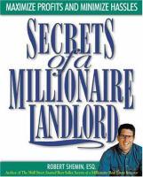 Secrets of A Millionaire Landlord