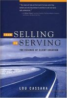 From Selling to Serving