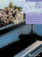 Love and Wedding Piano Solos