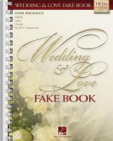 Wedding And Love Fake Book