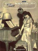 Songs of the 30's