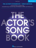 The Actor's Songbook