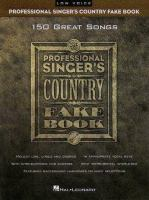 Professional Singer's Country Fake Book