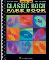 Classic Rock Fake Book