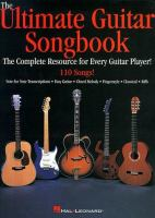 The Ultimate Guitar Songbook