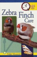 Zebra Finch Care