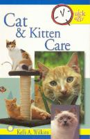 Cat & Kitten Care