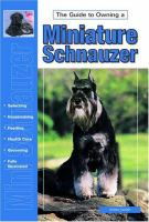Guide to Owning A Miniature Schnauzer