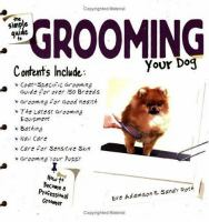 The Simple Guide to Grooming your Dog