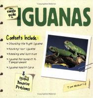The Simple Guide to Iguanas