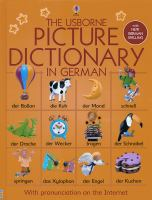 The Usborne Picture Dictionary in German