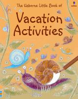 The Usborne Little Book of Vacation Activities