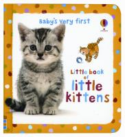 Baby's Very First Little Book Of Little Kittens