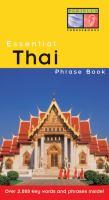 Essential Thai Phrase Book