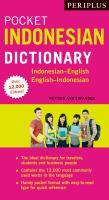 Periplus Pocket Indonesian Dictionary
