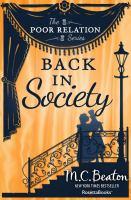 Back in Society