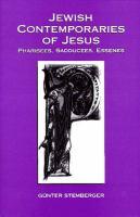 Jewish Contemporaries of Jesus