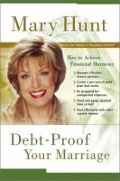 Debt-proof your Marriage