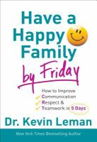 Have A Happy Family by Friday