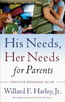 His Needs, Her Needs, for Parents