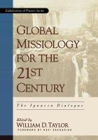Global Missiology in the Twenty-first Century