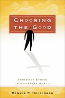 Choosing the Good